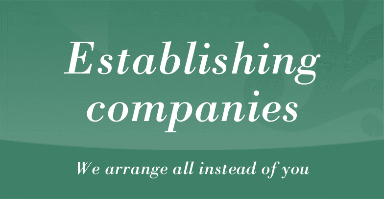 Establishing companies